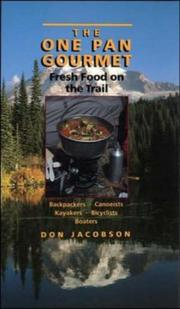 Cover of: The One-Pan Gourmet | Don Jacobson