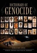 Dictionary of genocide by Samuel Totten