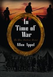 Cover of: In time of war