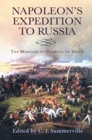 Cover of: Napoleon's expedition to Russia