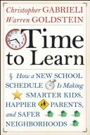 Time to learn by Christopher Gabrieli