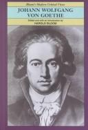 Cover of: Johann Wolfgang von Goethe | edited and with an introduction by Harold Bloom.