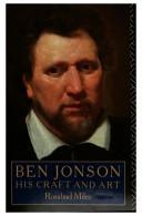 Cover of: Ben Jonson, his craft and art