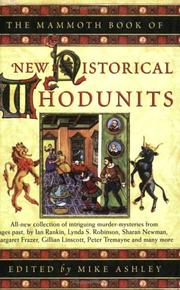 Cover of: The Mammoth Book of Historical Whodunits