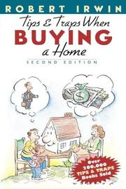 Cover of: Tips and traps when buying a home