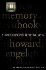 Cover of: Memory Book (Benny Cooperman Mysteries)