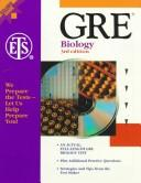 Cover of: GRE - Biology