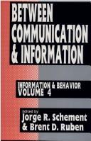 Cover of: Between communication and information