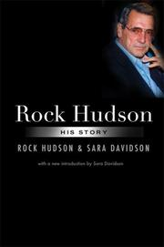 Cover of: Rock Hudson | Rock Hudson