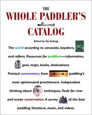 Cover of: The whole paddler's catalog