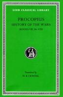 Cover of: Procopius