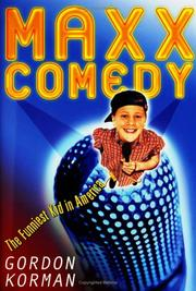 Cover of: Maxx Comedy: The Funniest Kid in America