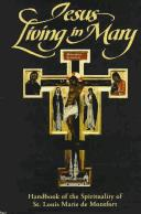 Cover of: Jesus living in Mary