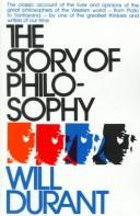 The story of philosophy by Durant, Will