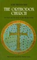 Cover of: The Orthodox Church