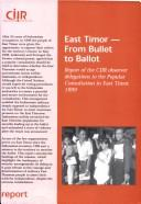 Cover of: East Timor |
