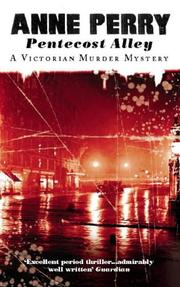 Cover of: Pentecost Alley (A Victorian Murder Mystery)