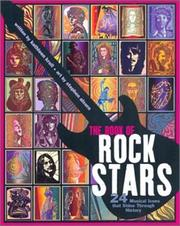 Cover of: Book of Rock Stars, The: 24 Musical Icons That Shine Through History