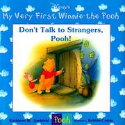 Cover of: Don't talk to strangers, Pooh!