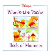Cover of: Winnie the Pooh's Book of Manners by Mary Hogan