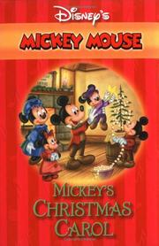 Cover of: Mickey's Christmas Carol (Disney's Mickey Mouse)