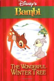 Cover of: The Wonderful Winter Tree (Bambi)