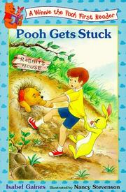 Cover of: Pooh gets stuck