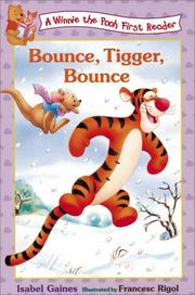 Cover of: Bounce, Tigger, bounce!