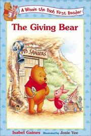 Cover of: The giving bear