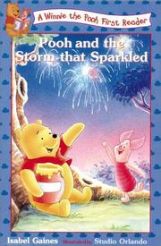 Cover of: Pooh and the storm that sparkled