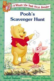 Cover of: Pooh's scavenger hunt
