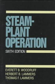 Cover of: Steam-plant operation | Everett B. Woodruff