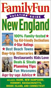 Cover of: FamilyFun Vacation Guide | tk