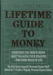 Cover of: The Wall Street Journal lifetime guide to money |