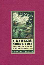 Cover of: Fathers, sons & golf