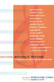 Songs without rhyme