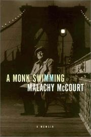 Cover of: A monk swimming | Malachy McCourt