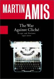 Cover of: The war against cliché: essays and reviews, 1971-2000