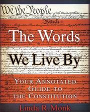 Cover of: The Words We Live By