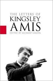 Correspondence by Kingsley Amis