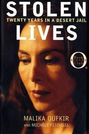 Cover of: Stolen Lives | Malika Oufkir