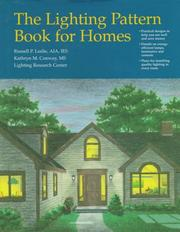 Cover of: The lighting pattern book for homes