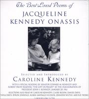 Cover of: Best Loved Poems of Jacqueline Kennedy Onassis, The | Caroline Kennedy