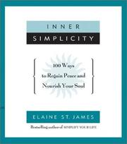 Cover of: Inner simplicity | Elaine St James
