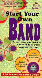Cover of: Start your own band! | Marty Jourard