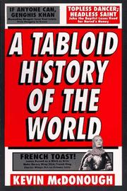 Cover of: A tabloid history of the world