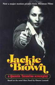Cover of: Jackie Brown: a screenplay