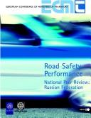 Cover of: Road safety performance by