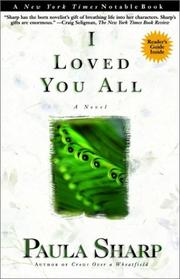 Cover of: I loved you all