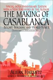 Cover of: The making of Casablanca